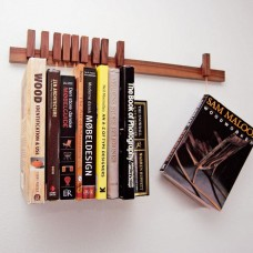Long Wall Book Rack